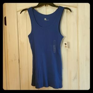 B1G1: GAP Solid Ribbed Sleeveless Tank Top Shirt